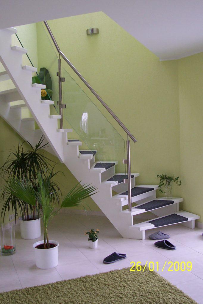Treppen Mit Glasgeländer treppen mit glasgeländer tischlerei jahn